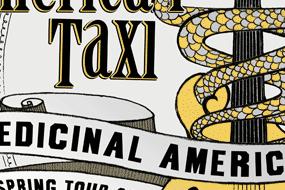 """""""Medicinal Americana"""" Tour Poster"""
