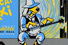 "Todd Snider ""Boxcar Dog"" Poster"